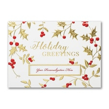 Red and Gold Holiday Greetings