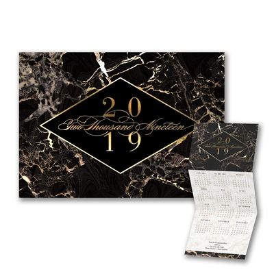 Stylish Marble Calendar