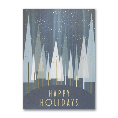 Happy Holidays Treeline
