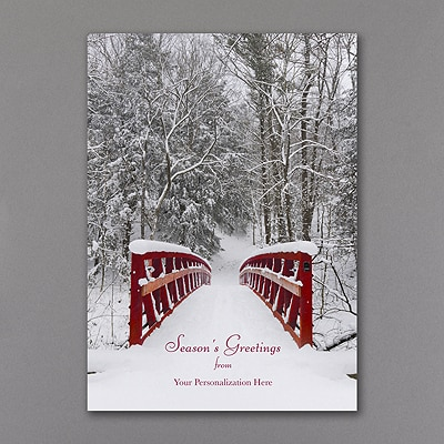 Winter Serenity - Holiday Card