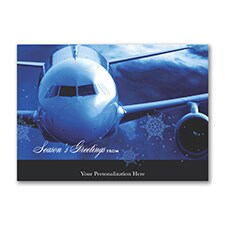 Airline Greetings - Holiday Card