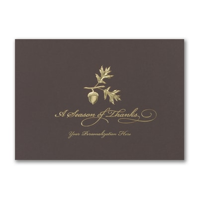 Season of Thanks - Holiday Card