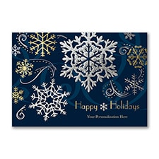 Stylish Holiday - Holiday Card