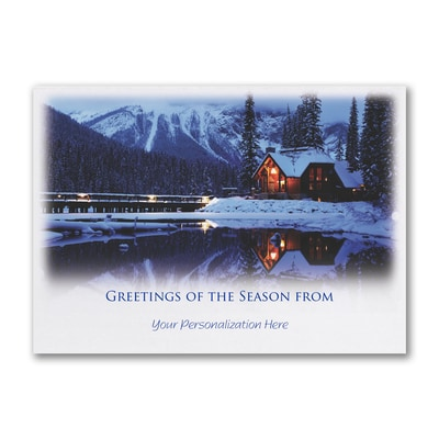 Peaceful Serenity - Holiday Card