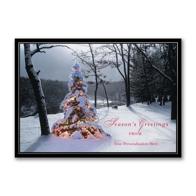Bright Tree - Holiday Card