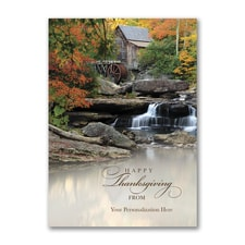 Bountiful Beauty - Thanksgiving Card