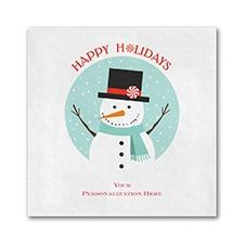 Snowman Napkin