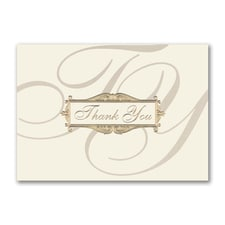 Scripted Thank You - Thank You Card