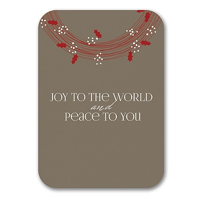 Peace to You - Holiday Card