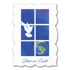 Dove of Peace - Holiday Card