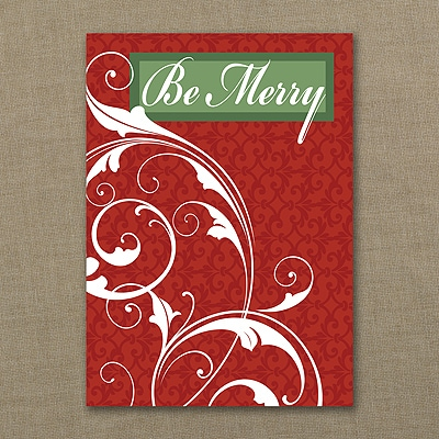 Be Merry Economy - Holiday Card