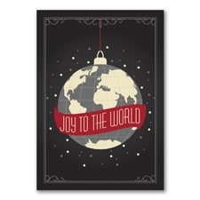 Joy to the World - Holiday Card