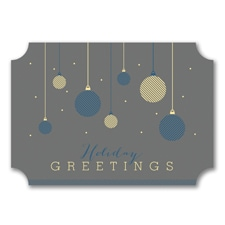 Hanging Ornaments - Holiday Card