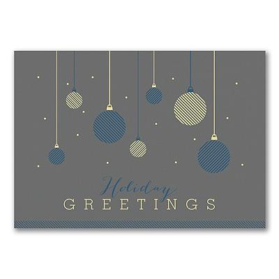 Hanging Ornaments - Holiday Card