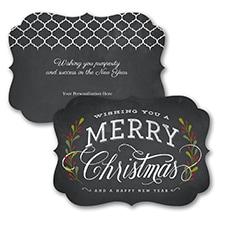 Chalkboard Christmas - Christmas Card