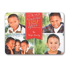 Most Wonderful - Holiday Card Puzzle
