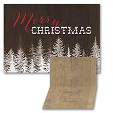 Rustic Christmas - Christmas Card