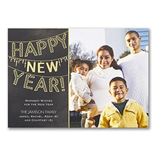 Shiny Year - Photo Holiday Card