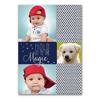 Magical Season - Photo Holiday Card