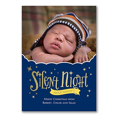 Starry Sky - Photo Holiday Card