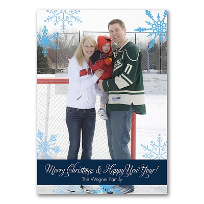 Color Block - Photo Holiday Card