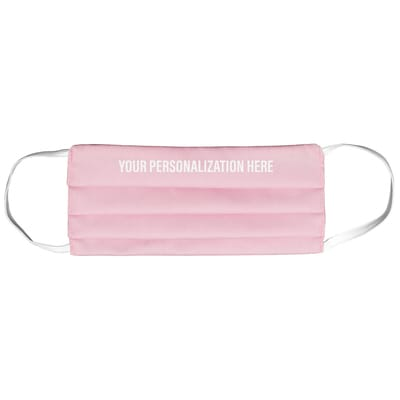 Pink Cloth Face Mask - Small