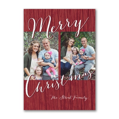 Merry Christmas Photos - Postcard
