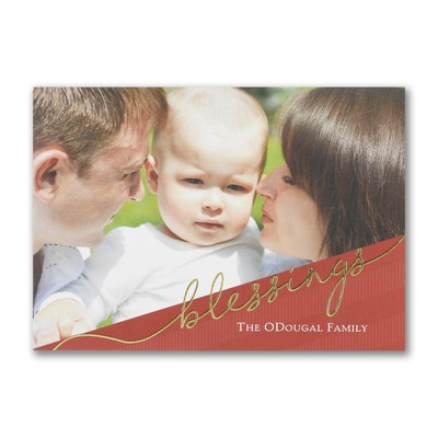 Photo Blessings - Postcard