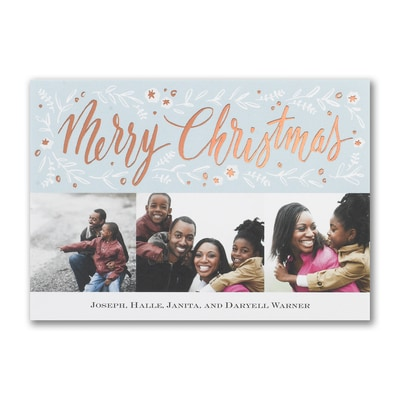 Gentle Merry Christmas - Postcard