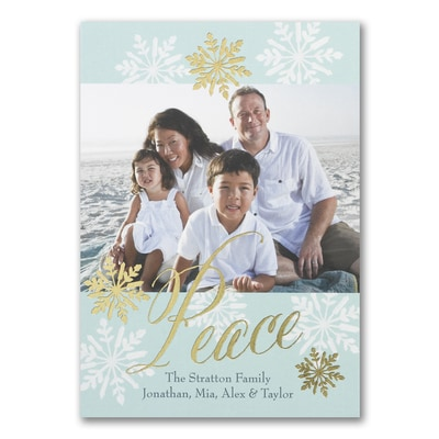 Snow Flakes of Peace