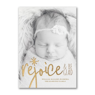Rejoice - Holiday Card