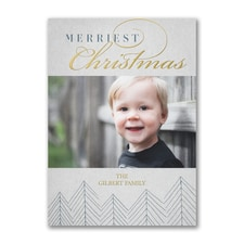 Merriest Christmas - Holiday Card
