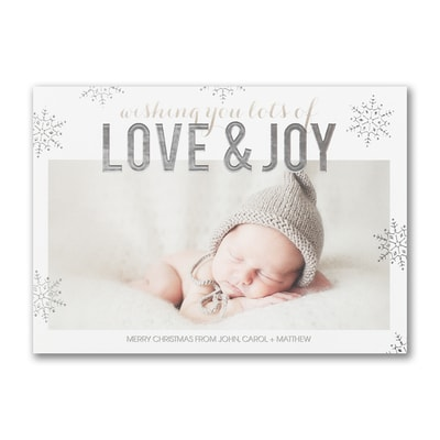 Love & Joy - Holiday Card