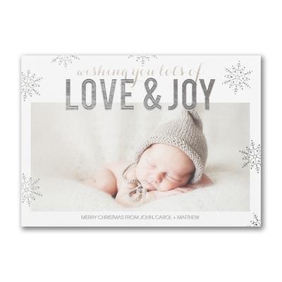 Love & Joy - Holiday Card