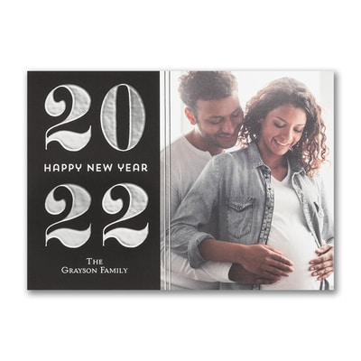 New Year Happiness - Holiday Card