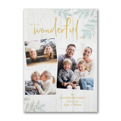 Wonderful Life - Holiday Card