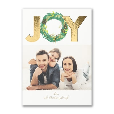 Wreath of Joy - Holiday Card