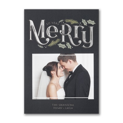 Merry & Modern - Holiday Card
