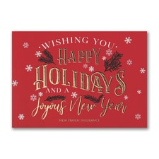 Joyful Holidays - Holiday Card