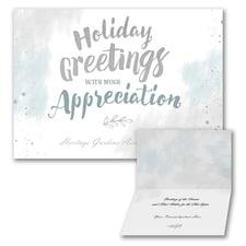 Appreciation Greetings - Holiday Folder