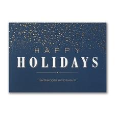 Dazzling Holiday - Holiday Card