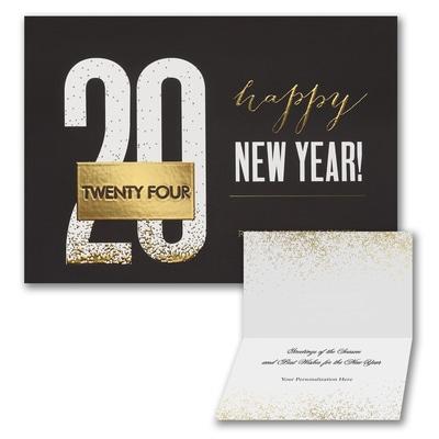 Modern New Year - Holiday Folder