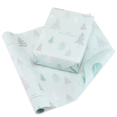 Forest Fun Reversible Wrapping Paper