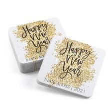 Glittery New Year - Coaster