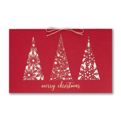 Ornate treeline shop all holiday cards the party block houston tx alternate views reheart Image collections