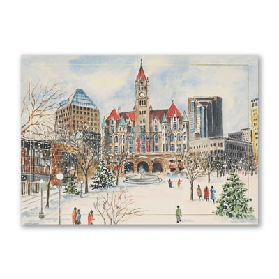 Wintertime in Rice Park - Courage Kenny Cards