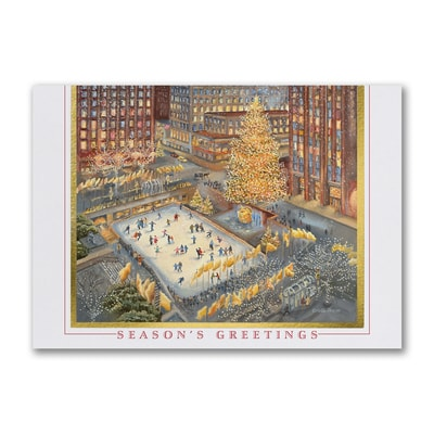 Rockefeller Center Rink - American Artist - Tina Cobelle Sturges