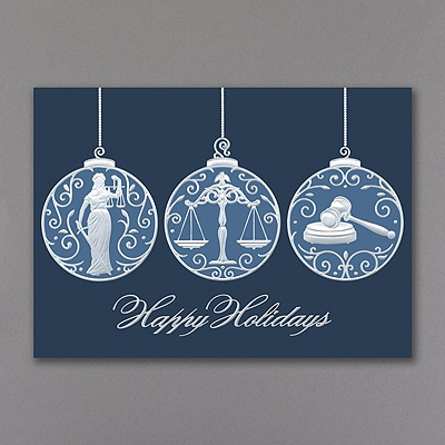Legal Ornaments - Holiday Card