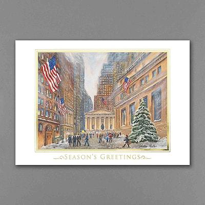 Wall Street - Holiday Card - American Artist - Tina Cobelle Sturges