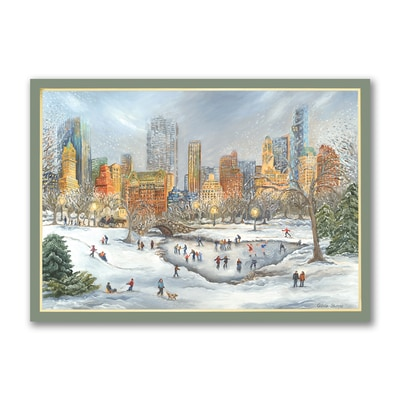 Central Park - Holiday Card - American Artist - Tina Cobelle Sturges